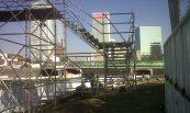Puente Peatonal; Paseo de la Reforma, México, D,F
