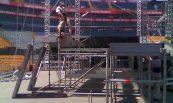 Concierto Iron Maiden (1); Estadio Universitario de Nuevo León, Mty