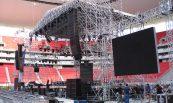 Festival 40 principales (2); Estadio Omnilife, Guadalajara, Jal.