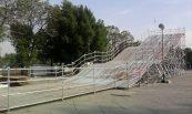Tobogán; Palacio de los deportes, México, D.F.