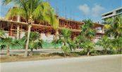 Apuntalamiento en Punta del Mar en Cancún, México